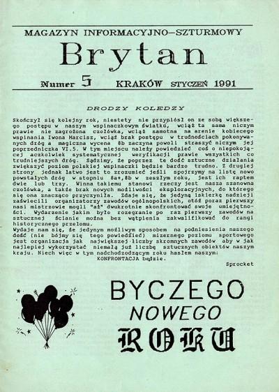 """""""Brytan"""" nr 5(styczeń 1991)"""