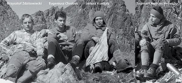 anusz Kurczab, Eugeniusz Chrobak, Zygmunt Andrzej Heinrich, Krzysztof Zdzitowiecki, Kazalnica Mieguszowiecka, Filar Kazalnicy