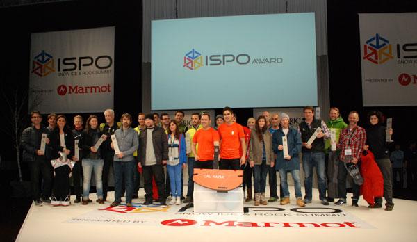 Zwycięzcy nagrody ISPO GOLD AWARD w kategorii outdoor (fot. Outdoor Magazyn)