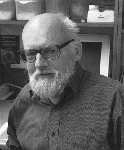 Prof. Krzysztof Zdzitowiecki w Instytucie Parazytologii PAN (fot. arch. K. Zdzitowiecki)