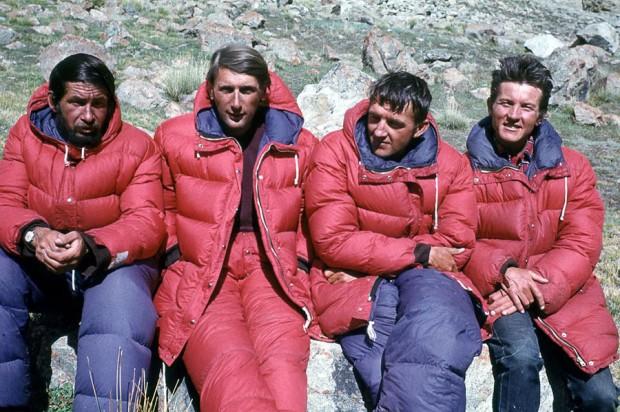Czwórka z Kunyanga - Heinrich, Zawada, Stryczyński i Szafirski (fot. Ryszard Szafirski)