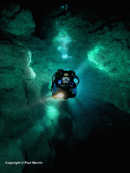 Cave Diving - Paul Marvin