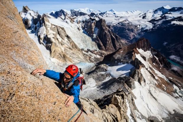 Climbing in Patagonia - Ulrik Hasemann