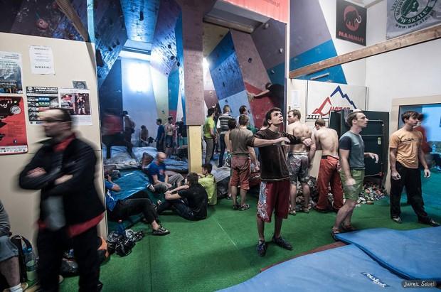2. eliminacja Pucharu Śląska w Boulderingu odbyła się w Rudzie Śląskiej (fot. Jarek Sobel)