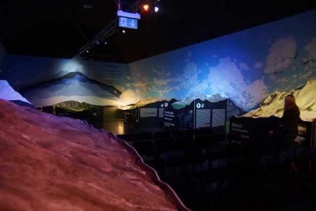 Makiety najwyższych szczytów Ziemi (fot. Bartek Oczkowski)