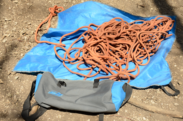 Rope bag (fot. Grzegorz Rettniger)