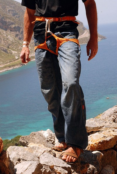 Spodnie Poema Roca Jeans Light (fot. wspinanie.pl)