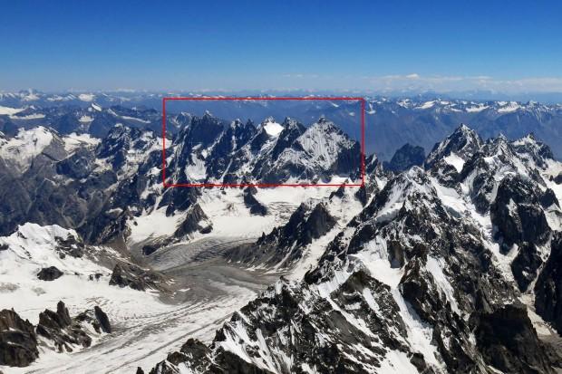 Rejon działania Tagas 2015 Expedition - dolina Lachit, Pakistan