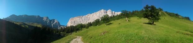 Ratikon w całej okazałości (fot. Jacek Matuszek / Alpine Wall Tour)