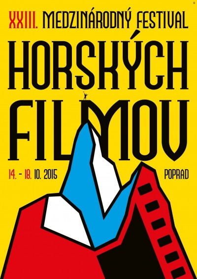 Plakat XXIII Międzynarodowego Festiwalu Filmów Górskich w Popradzie