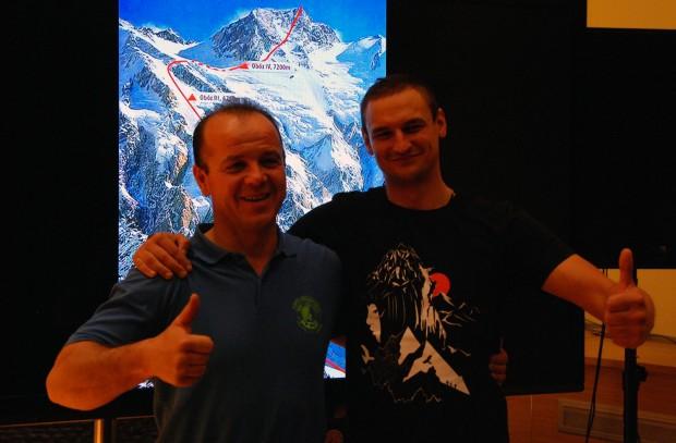 Jacek Czech i Adam Bielecki (fot. wspinanie.pl)
