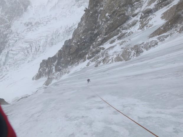 Adam Bielecki któtko po upadku na Nanga Parbat