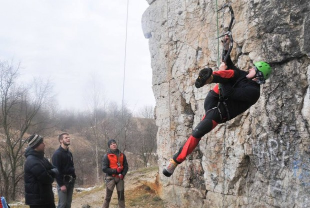 Trening na łańcuchu Makara (fot. Ola Tyrna)