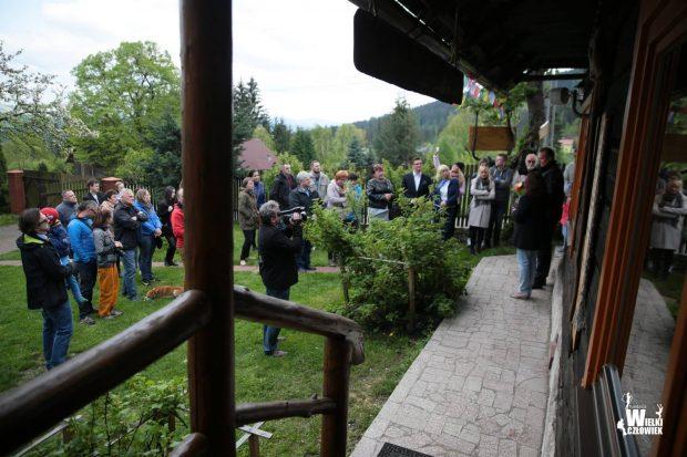 Uroczyste otwarcie odnowionej Izby Kukuczki