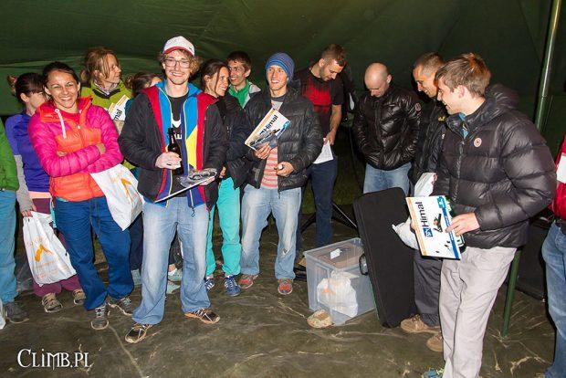 Świętowanie (fot. climb.pl)