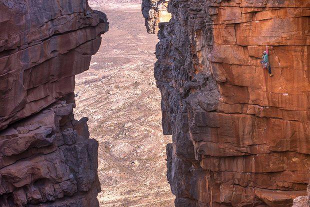 W poszukiwaniu idealnej drogi tradowej (fot. Riky Felderer)