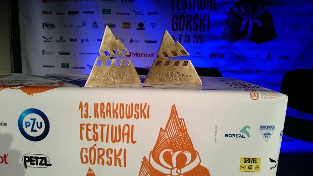 Statuetki konkursów filmowych (fot. wspinanie.pl)