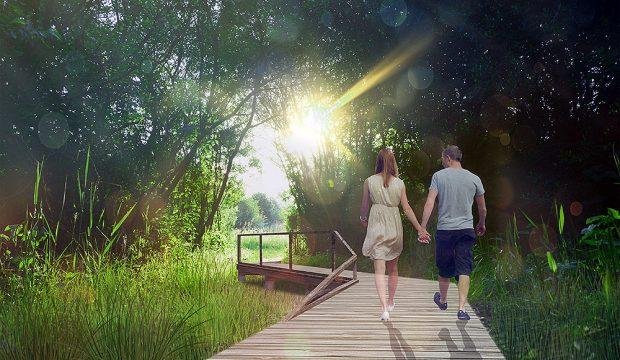W miejscach cennych ekologicznie i przyrodniczo zaplanowano podniesione podesty