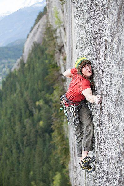 Marc-André podczas wspinaczki w Squamish (fot. arch. Marc-André Leclerc)