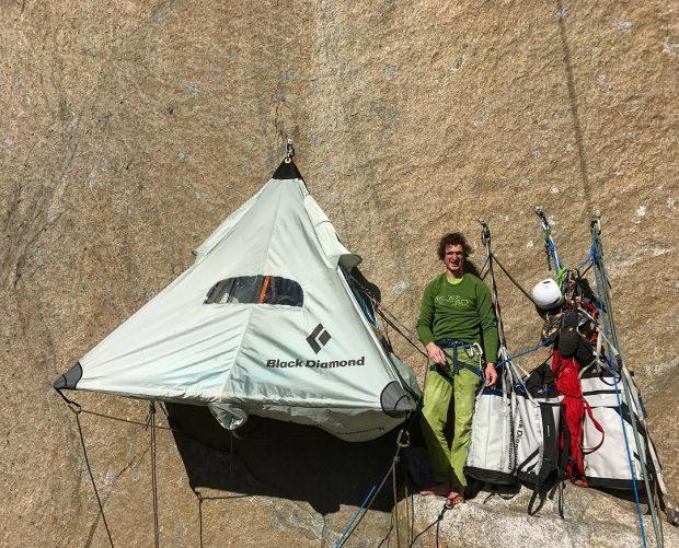 Adam Ondra na Dawn Wall (fot. Pavel Blažek / www.pavelblazek.com)