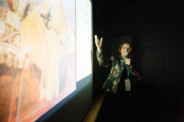 Monika Rogozińska podczas swojego pokazu (fot. Adam Kokot / KFG)