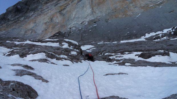 Zacięcie nad Trudną Rysą, Eiger