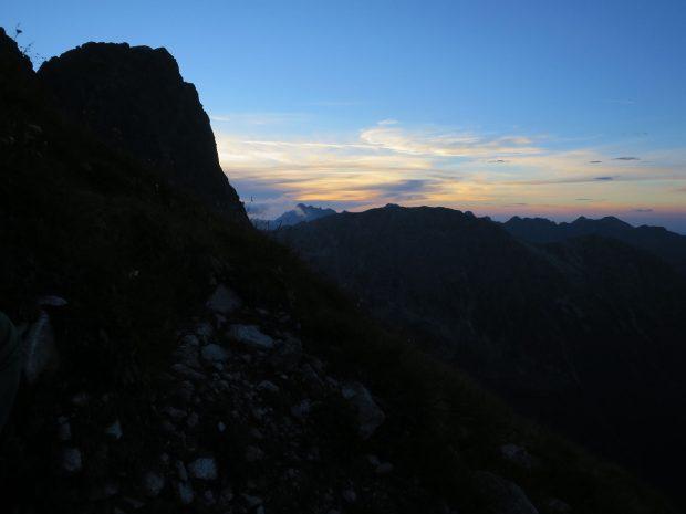 Wschodnia MSW po zachodzie słońca (fot. M. Tertelis)