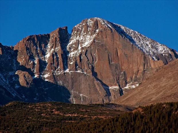 Longs Peak, The Diamond (fot. wikipedia)