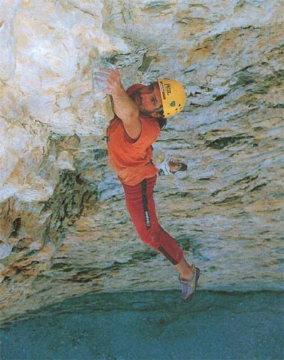 Alex Huber free solo na Hasse-Brandler