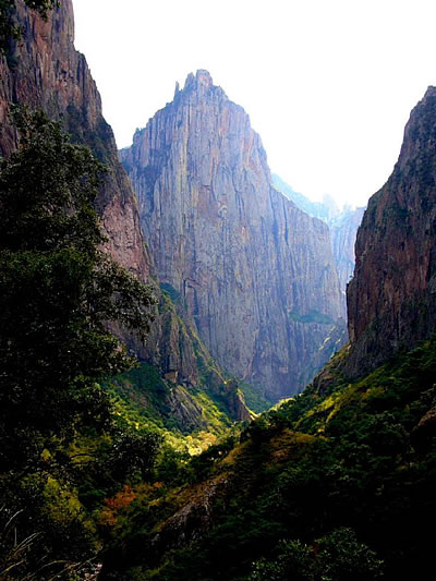 Ściana El Gigante (fot. Kairn)