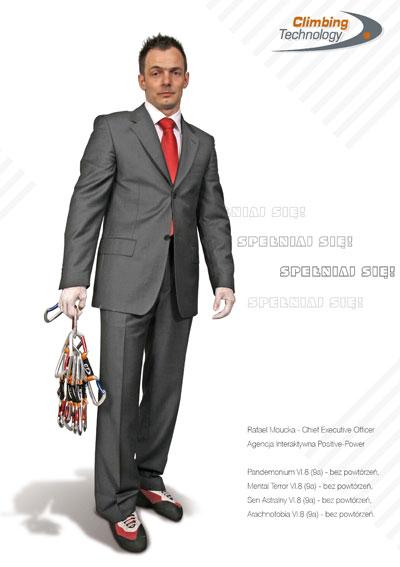 W 2008 roku Rafał Moucka firmował reklamę. Jak widać kolejne pokolenia, po latach podjęły  to wyzwanie. Prowadzenie Pandemonium zamyka i utrwala mit dróg Rafała Moucki.