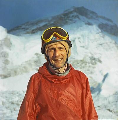 Andrzej Zawada pod Everestem (fot. Bogdan Jankowski)