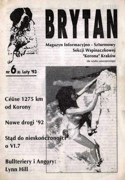 """""""Brytan"""" nr 6(luty 1993)"""