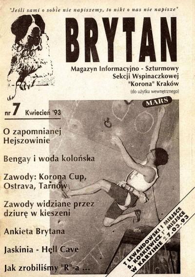 """Brytan"" nr 7(kwiecień 1993)"