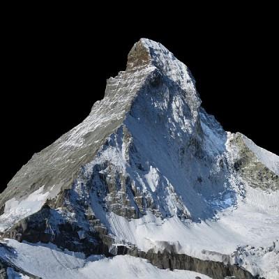 Matterhorn wygenerowany przez senseFly