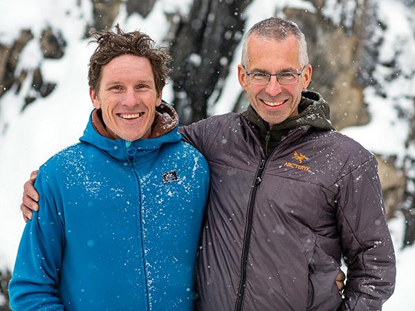 Ian Welsted i Rafał Sławiński (fot. adventure.nationalgeographic.com)