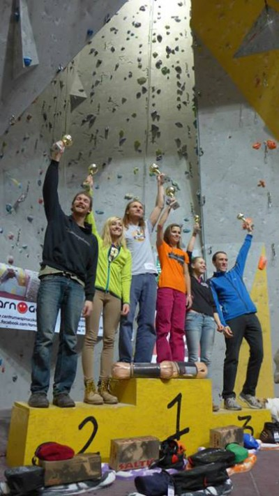 Najlepsi ostatniej edycji PP 2013 - od lewej: Mechanior, Sylwia Buczek, Marcin Wszołek, Nina Gmiter, Karina Mirosław i Piotrek Bunsch
