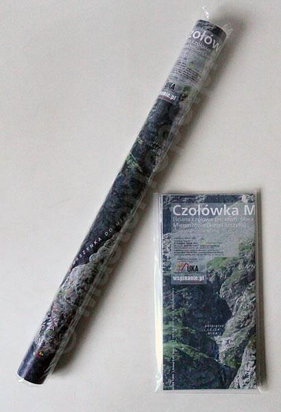 Fotomapa Czołówki Mięgusza w obu wersjach dostępnych w sprzedaży, składanej i rolowanej