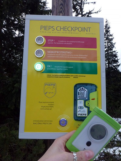 pieps-checkpoint