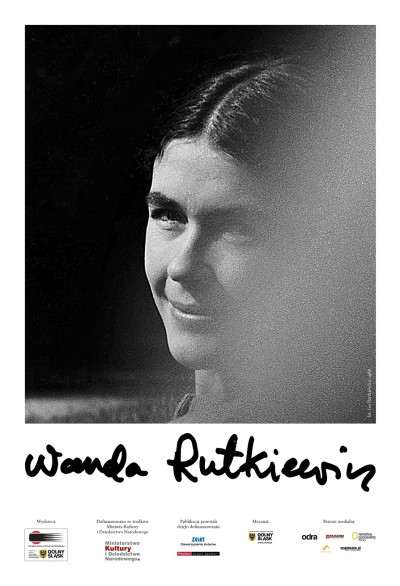 Wanda Rutkiewicz, plakat