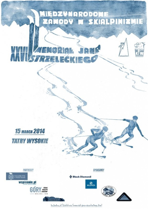 XXVI Memoriał Jana Strzeleckiego - plakat