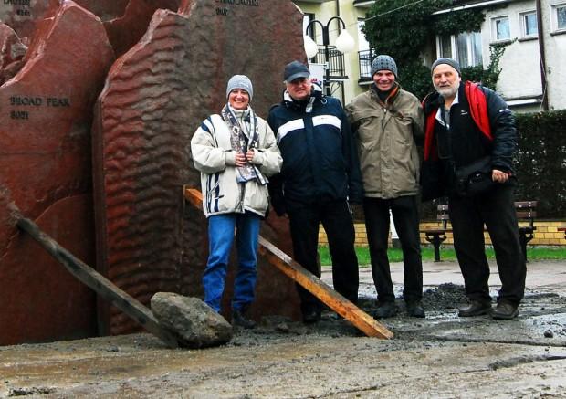 Marzena Bruzdowicz, Jerzy Szczepankowski, Jacek Bruzdowicz i Michał Kochańczyk To zdjęcie pstryknął Janusz Sitniewski