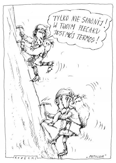Troska (rys. M. Konecki)