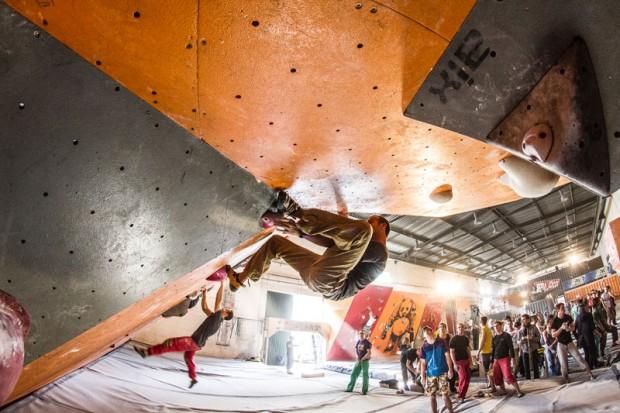 Zgrupowanie Kadry odbyło się na boulderowni Bloco. W tym roku na warszawskiej ścianie rozegrano 3. edycję Bloco Open (fot. Michał Wojcieszek)