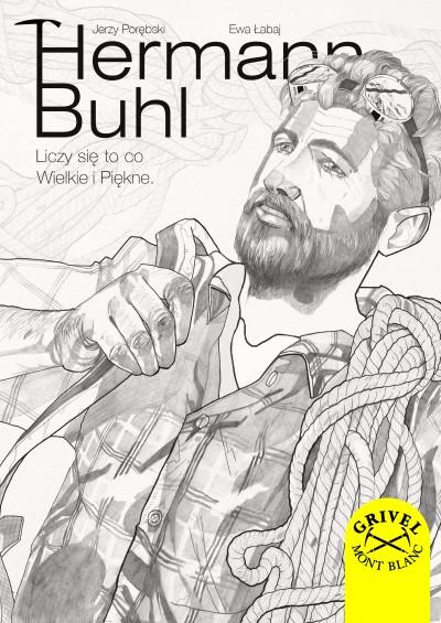 Hermann Buhl - Liczy się to co wielkie i piękne - okładka