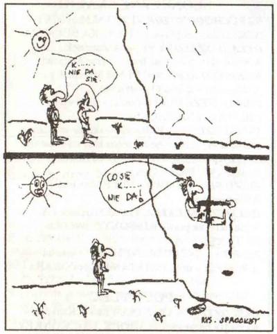 """Rysunek z """"Brytana"""" nr 8, 1993"""