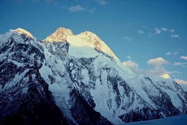Broad Peak z lodowca Savoia (fot. Janusz Kurczab)