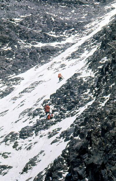 W południowo-zachodniej ścianie Noszaka (fot. Janusz Kurczab)