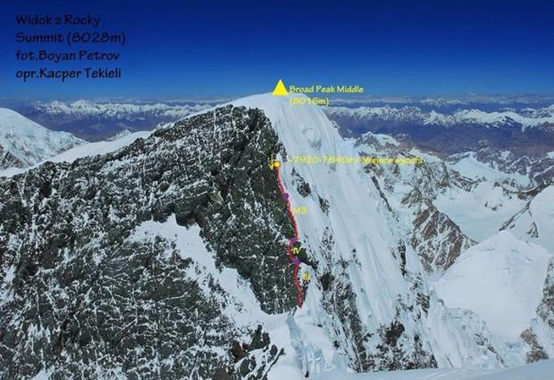 Broak Peak Middle (fot. Bojan Petrow, opr. Kacper Tekieli)