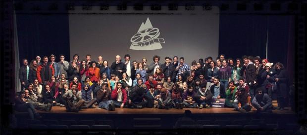 oraz festiwalowa scena w Ushuaia (fot. Ushuaia Shh)